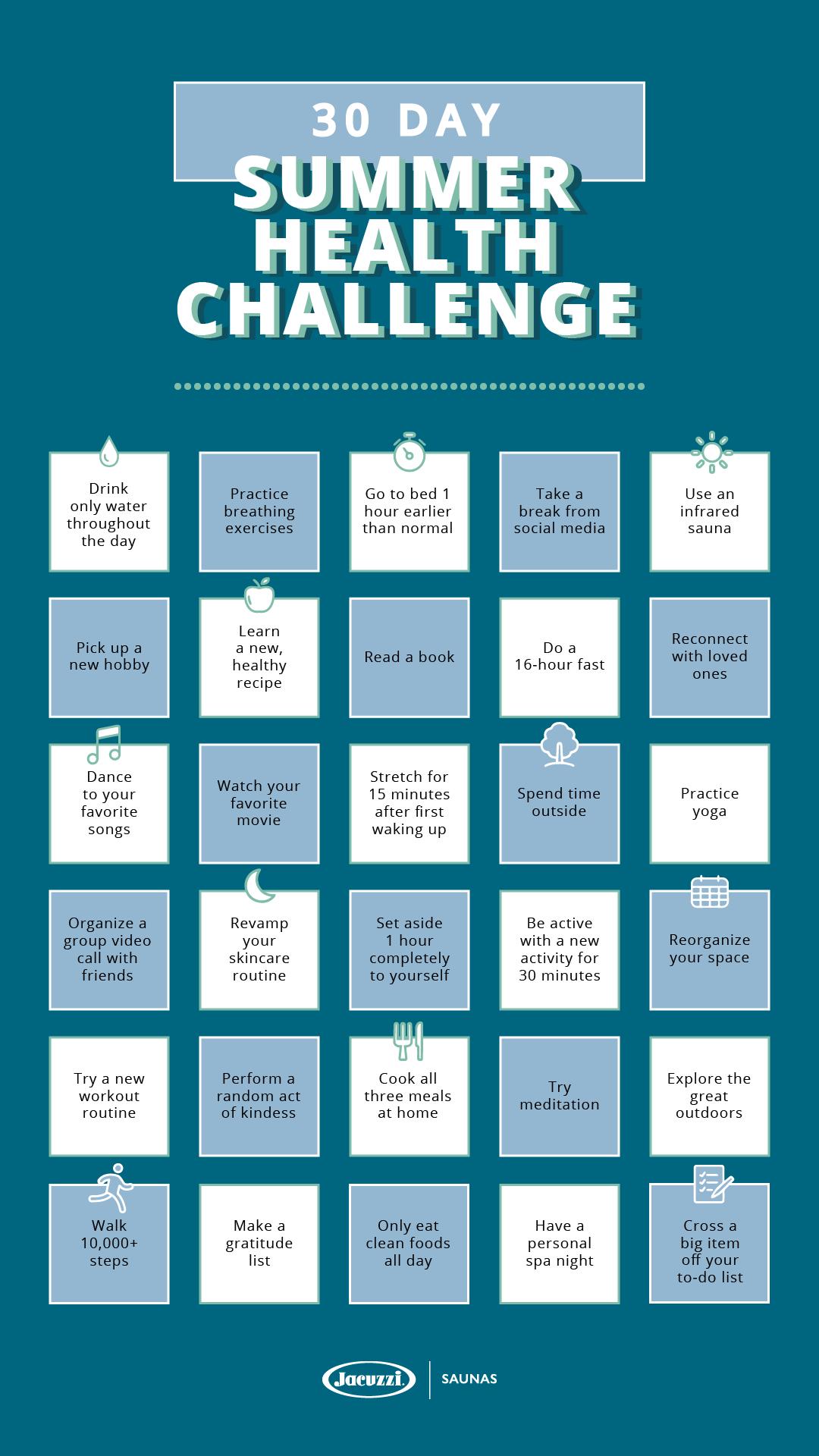 30-Day-Summer-Health-Challenge-by-Clearlight-Infrared-Saunas