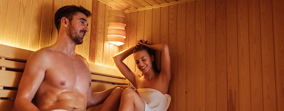 Couple-Keeping-New-Years-Resolutions-in-Sauna