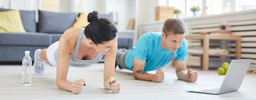 Perfect Your At-Home Fitness Routine to Stay Healthy at Home