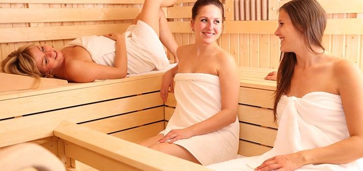 Group-of-Friends-Enjoying-3-Person-Sauna