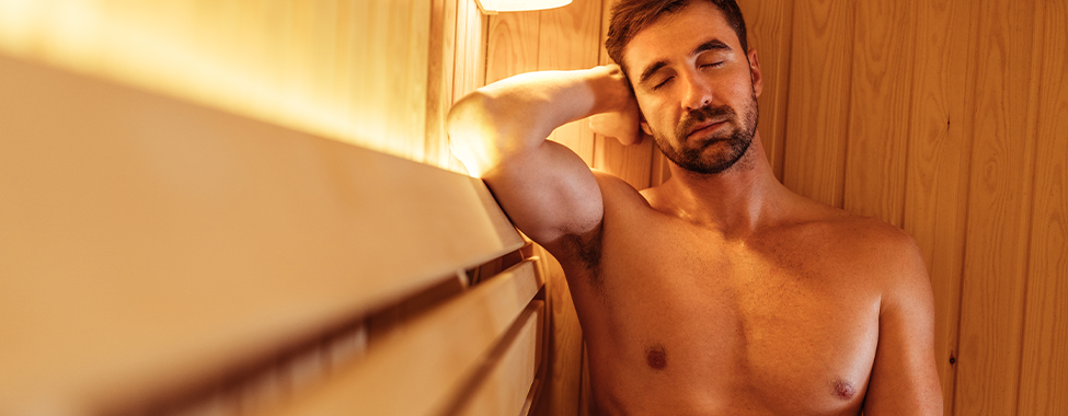 Man-in-Sauna-to-Boost-Immune-System-and-Help-Fight-Infections