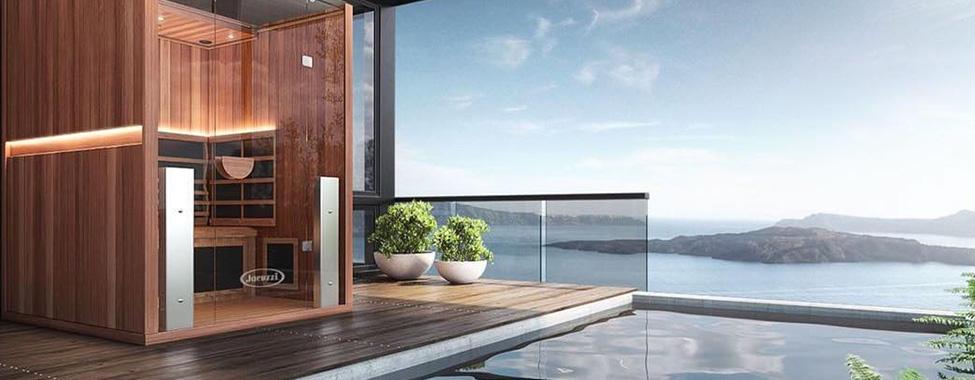 Modern-Infrared-Sauna-in-Luxury-Setting