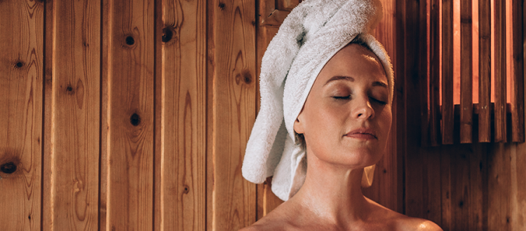 Sauna Bathing for Peaceful Minds and Healthy Hearts