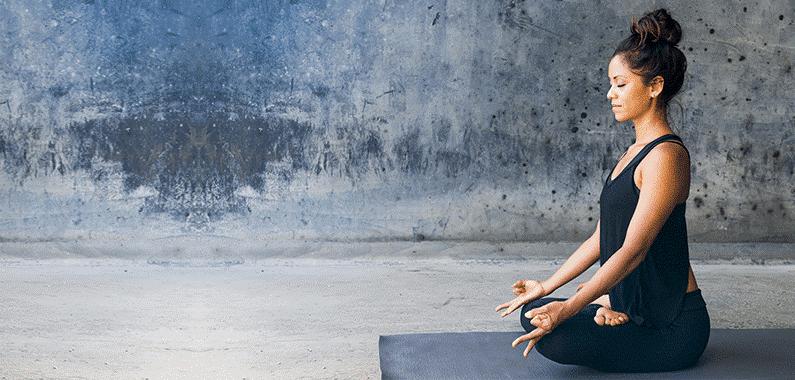 Woman-Doing-Yoga-for-Mental-Wellness