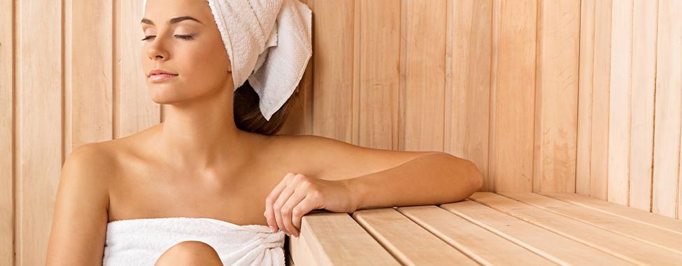 Woman-Using-Sauna-for-Physical-Self-Improvement
