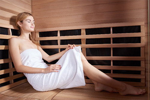 Women-using-sauna-weight-loss