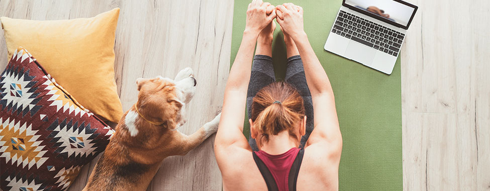 Woman Doing Yoga for Stress Management