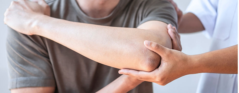 Patient in Physical Therapy for Joint Pain Treatment